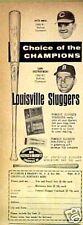 Rose-Reds ~1969~ Yaz-Red Sox Baseball Louisville Bat AD