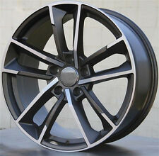 "18"" Wheels For Audi A4 A5 A6 A8 Q3 Q5 VW Passat 18X8.0 et 35 5X112 Rims Set (4)"