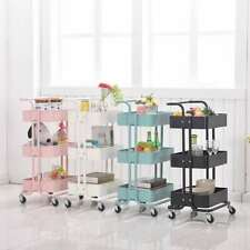 Salon Hairdresser Barber Storage Trolley Beauty Drawer Spa Cart Steel Racks