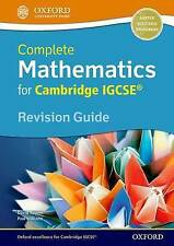 Complete Mathematics for Cambridge IGCSE Revision Guide (Core & Extended) by...