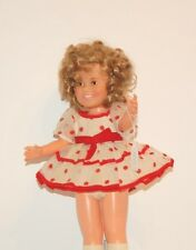 Shirley Temple 1974 in her original white dress with red dots and red shoes