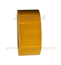 NEW HIGH INTENSITY YELLOW REFLECTIVE TAPE 50mm x 10m