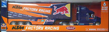 NewRay Peterbilt US Race Truck KTM Red Bull Racing 2017 1:32 Spur 1 Neu/OVP LKW