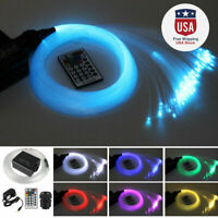 16W RGB LED Fiber Optic Star Ceiling kit light 300pcs 2m 0.75mm + Remote Control