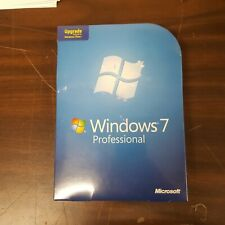 GENUINE Windows 7 Professional Upgrade NEW RETAIL Sealed 32 & 64 DVD FQC-00130