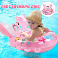 Kds Baby Seat Swimming Inflatable Pool Swim Float Ring Summer Water Sport Toy