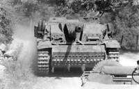 WWII photo American soldiers are distilling the captured StuG III  world war 49b
