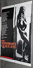 SEXPLOITATION original 1974 movie poster USCHI DIGARD OneSheet MIDNIGHT GRADUATE