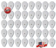 TENS / EMS Unit 40 Snap Tens Unit Electrode Pads Tens Electrodes Reusable Gel