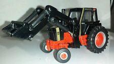 1/64 ERTL custom case 1170 gold demonstrator agri king tractor loader farm toy