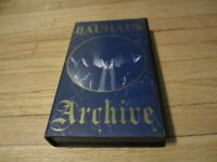 Bauhaus ARCHIVE VHS NTSC Video Collection Original Owner Very Rare Tape!