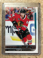 18-19 UD Upper Deck Series 2 Young Guns YG #490 ALEXANDRE FORTIN