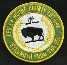 USS LA MOURE COUNTY LST 1194 Tank Landing Ship Military Patch STRENGTH FROM SEA