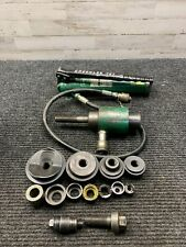 Used Greenlee 767 Hand Pump & Knockout Punch Driver, Other Accessories