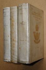 History of the King's Own Yorkshire Light Infantry. 3 Volumes. 1926 1st. Vellum