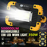 "350W Emergency Flood Lamp LED COB Work Light Floodlight USB Rechargeable  ""CN"