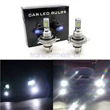 H4 9003 HB2 LED Headlight Bulbs Kit High Low Beam Bright 35W 4000LM White 6000K