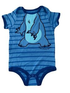 Disney Bodysuit Stitch Baby 24 Months- Costume- Cute Clothes