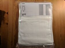 2 Continuous white Curtain Sheer LACE curtains IKEA NEW