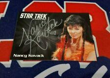 Star Trek TOS Archives & Inscriptions Nancy Kovack Silver Autograph