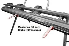 just-bend measuring guage for Tapco and Vanmark brakes