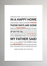 Swedish House Mafia - Don't You Worry Child - Colour Print Poster Art
