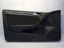 VW Golf VI 6 Cabriolet Gti (517) 2.0 TSI Door Card Panel Left Front