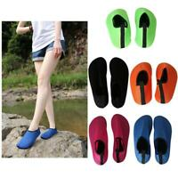 Women Men Skin Water Shoes Aqua Socks Yoga Exercise Pool Beach Swim Slip Surf DD