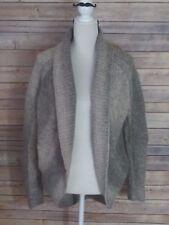 Wilfred Aritzia Italian Yarn Wool Alpaca Knitted Sweater Light Grey Tan Medium