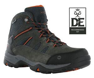 Hi-Tec Mens Walking Boots Bandera II Wide Waterproof Leather Lace Hiking Trail