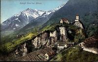 Meran Merano Italien Italia Südtirol ~1910 Schloss Panorama Burg Alpen Gebirge