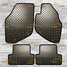 VOLVO S60 UP TO 2010 QUALITY TUFTED BLACK CAR MATS WITH 8 CLIPS B