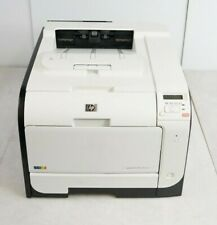 HP LaserJet Pro 400 Color M451nw Network Laser Printer CE956A 17873 TPC w/ Toner
