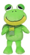 """Frog Prince w/ Embroidered Scarf & features 12"""" Green Toad Giftable World A00011"""