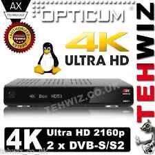 NEW !!! - AX 4K Ultra HD BOX HD51 - Linux Enigma2 - 2 x DVB-S/S2 - TWIN - 2160p