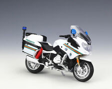 1:18 Maisto BMW R1200RT Portugal Police Motorcycle Bike Model New