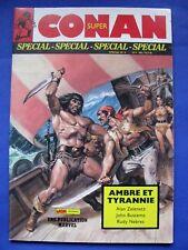 """Super Conan Spécial Numéro 4 """" Ambre et Tyrannie """" /Mon Journal 1987"""