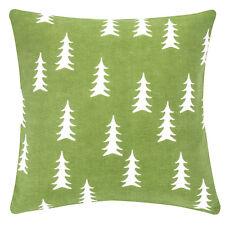 pad Kissenbezug FORREST 40 x 40 cm  Grün Weihnachten Baumwolle mit RV