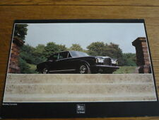 RARE, BENTLEY CORNICHE BROCHURE