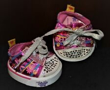 Twinkle Toes by Skechers for Build-A-Bear Athletic Sport Shoes Sneakers Babw