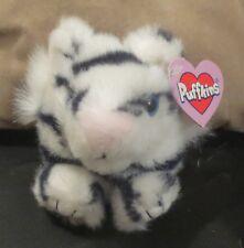 Puffkins Bean Bag Tasha The White Tiger