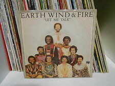 "EARTH WIND & FIRE ""LET ME TALK"" 7""  MADE IN U.S.A. 1-11366 ARC 1980"