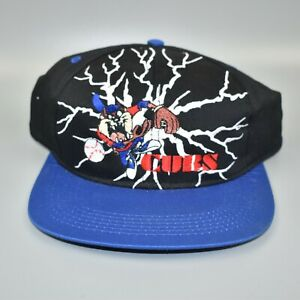 Chicago Cubs Taz Looney Tunes Vintage 90's YOUTH Snapback Cap Hat - NWT