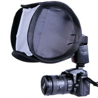 9-Inch Portable Quick Setup Speedlite Softbox with Velcro Strap for Nikon Canon