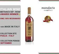 6 bottles Italian Rose Wine | Vino Rosato pregiato | Metiusco IGP PLURIPREMIATO