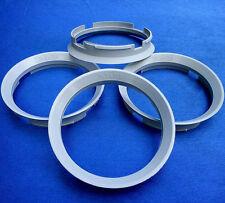 (Z30D) 4x Zentrierringe 76,9 / 71,6 mm grau für Brock Keskin Motec Oxigin Tomaso