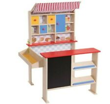 Playtive Junior Stand Kaufmannsladen aus Holz