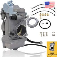 For Mikuni HSR42mm HSR TM42-6 42mm Carb Carburetor Harley Evo Evolution Twin Cam