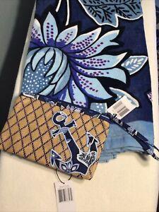 Vera Bradley Beach Towel & Beach Wristlet Tropics Tapestry 26188-P72