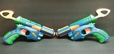 2 NERF Dart Gun Blaster Tech Target Eliminator Pistols